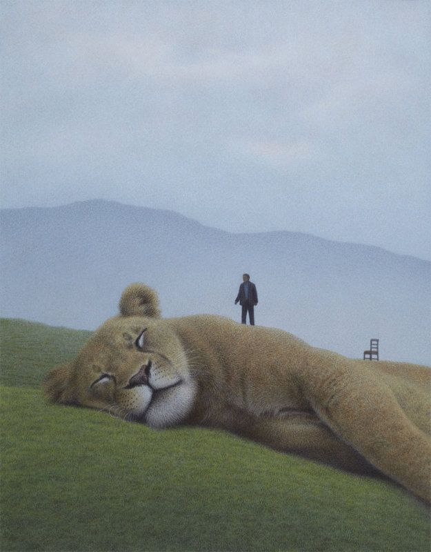 Quint Buchhultz is a German Author and illustrator. His art is amazing! www.quintbuchholz.de: All Pictures