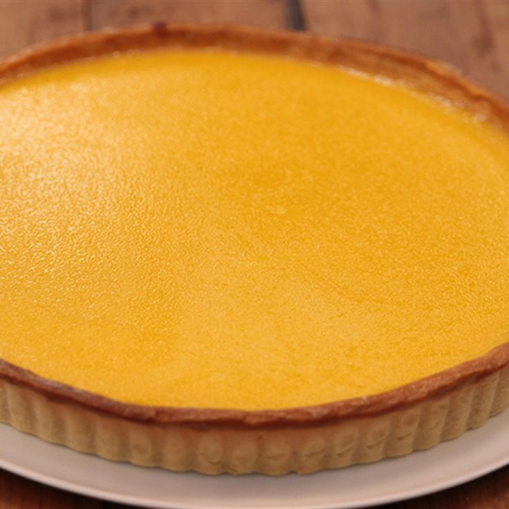 Try this Passionfruit Tart  recipe by Chef Matt Moran. This recipe is from the show The Great Australian Bake Off.