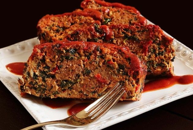 Paleo Melissa's Turkey Meatloaf