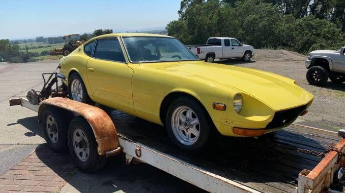 1971 v8 manual project in napa county ca datsun 240z car facts manual pinterest