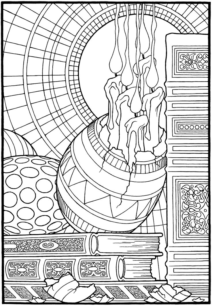 easter eggs from the coloring book equinox by stephen barnwell coloring pages easter eggs 2
