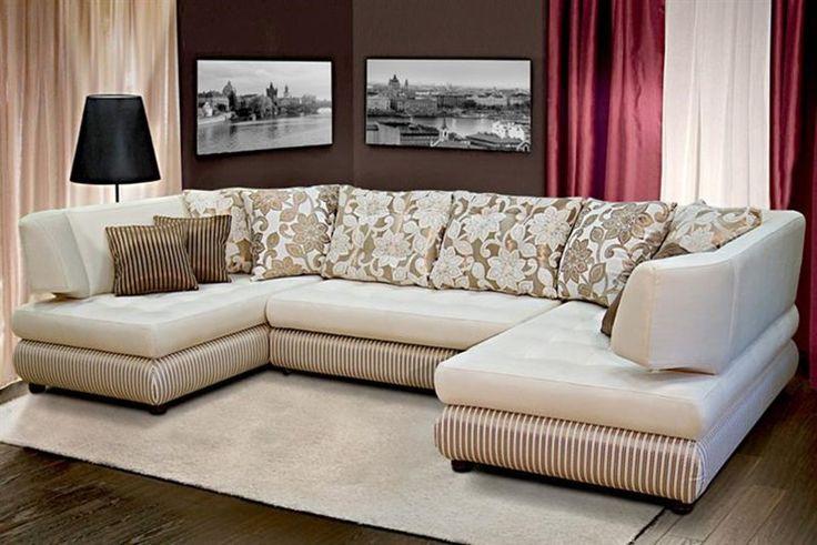 Угловой диван Элита 50 Б (П- образный) в Санкт-Петербурге заказать с доставкой - доступная цена 75314 р