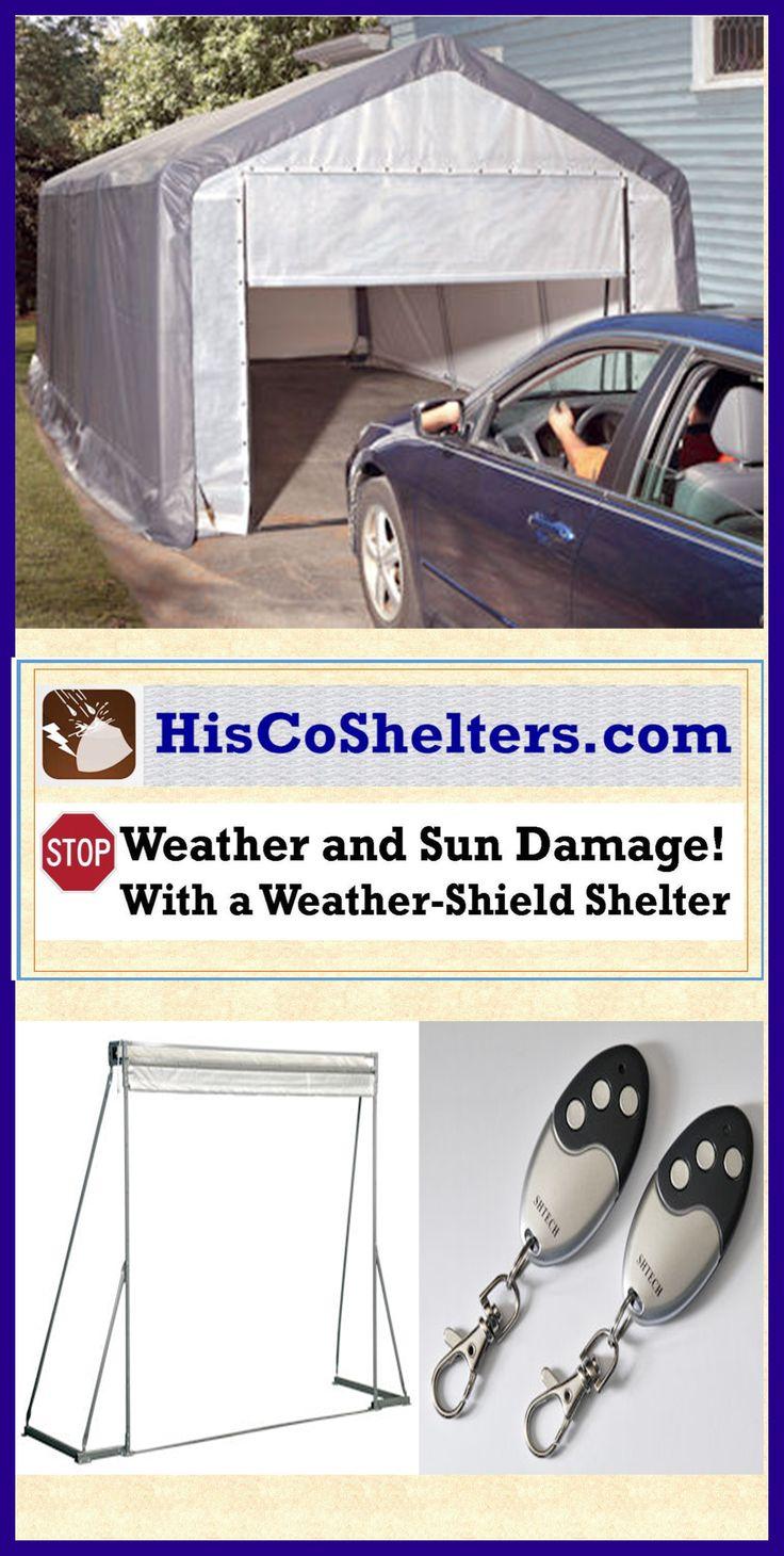 Personal Portable Shelter : Best images about portable garage carport shelter