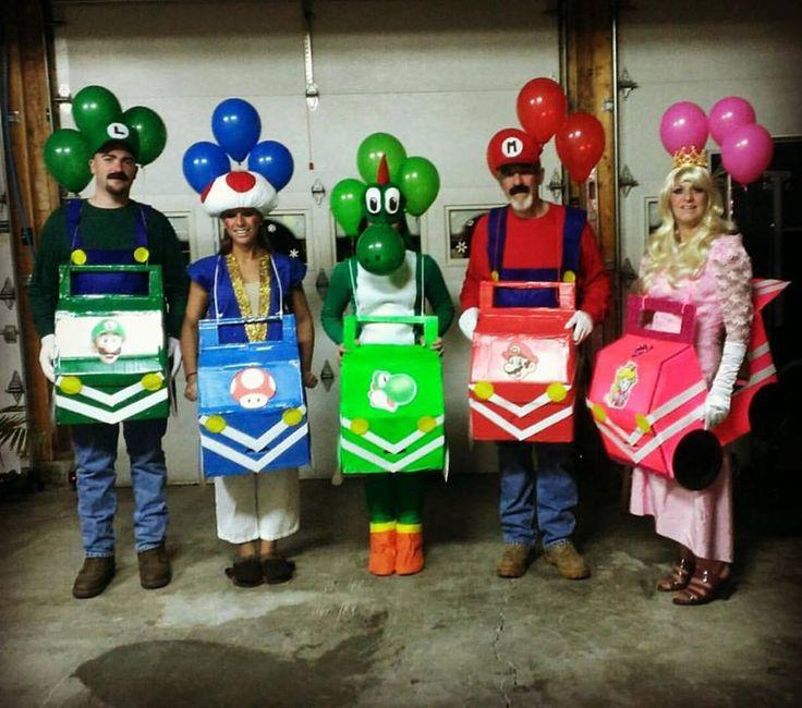 Mario Kart Halloween Costume #mariokart #handmade #halloween