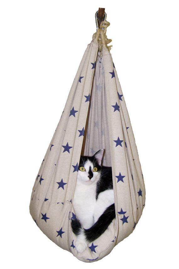 Pendant cat's bed SWING N. by KOKOTbyAnnHell on Etsy