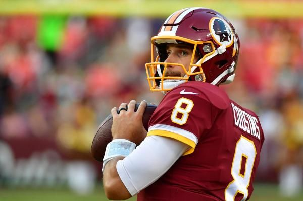 Washington Redskins quarterback Kirk Cousins has not had the sharpest preseason, but his price continues to rise anyway.