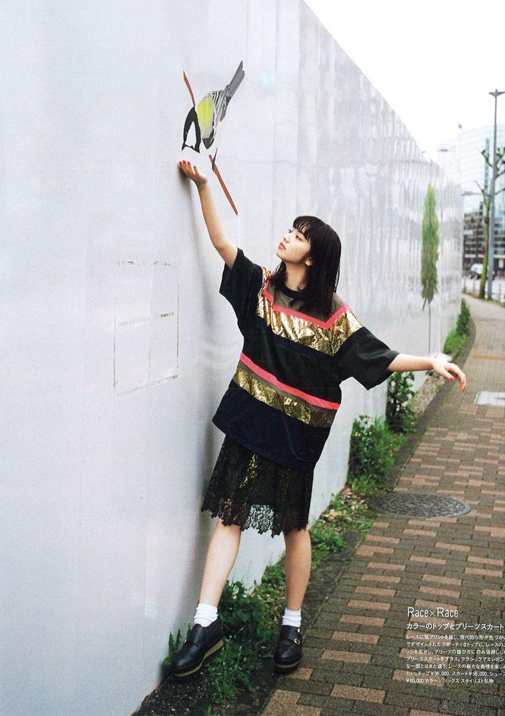 """sola-nin: """"小松菜奈 for 装苑, 06/2016 """""""