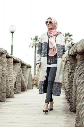 cute and chic hijab winter look, 27dresses winter collection 2016 http://www.justtrendygirls.com/27dresses-winter-collection-2016/