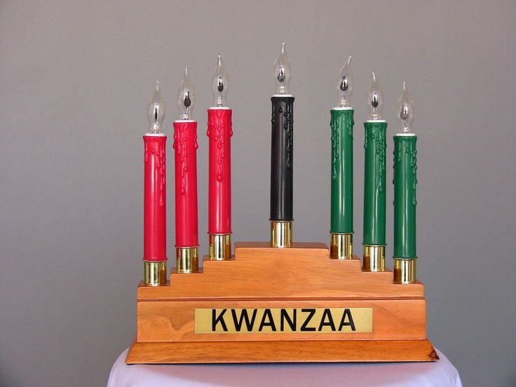 Electric Kinara For Kwanzaa