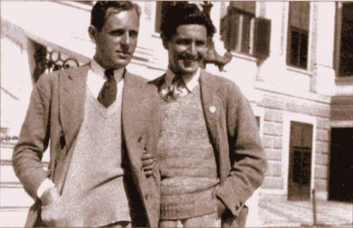 Ivor Novello and his lifelong partner Bobbie Andrews