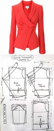 Выкройка пиджака от Армани | Искусница