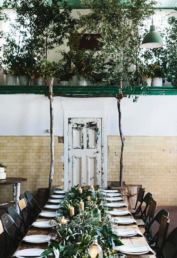 Butterland, the property Katie and her partner, Greg Hatton own in Newstead, all dolled up for a wedding with flowers and foliage by Katie. ...