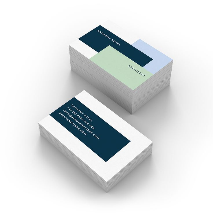 Royal – one of our Graphic business card templates available to customise and order on our site.