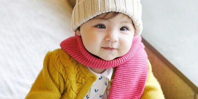طفل حلو