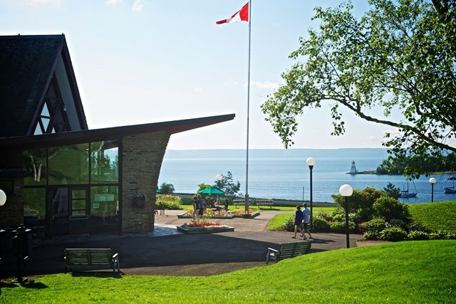 Beautiful sights on Cape Breton's Inland Sea! #capebreton #brasdorlake #baddeck  http://www.cbisland.com/experiences/culture-and-heritage/historic-sites/item/1792-alexander-graham-bell-national-historic-site-of-canada