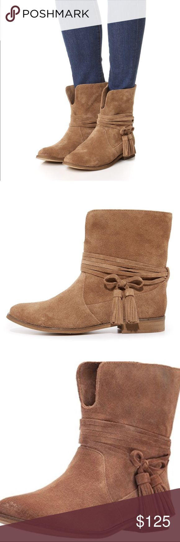 NEW Splendid Penny Tassel Dark Brown Bootie 9.5 Brand new. I don't have the box. Splendid Shoes Ankle Boots & Booties