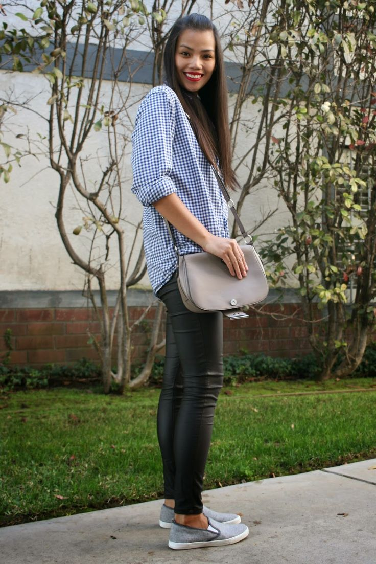 Jan Loves ♥: How to Wear Wet Look Leggings