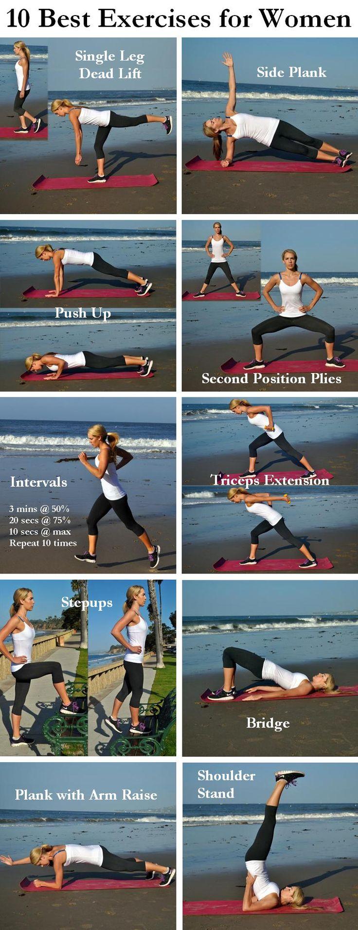 10 Best Exercises for Women http://www.shape.com/fitness/workouts/10-best-exercises-women