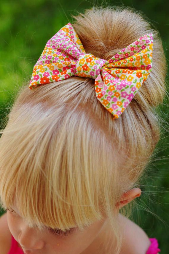 No Sew Hair Bows - Think Crafts by CreateForLess