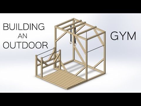 Building an Outdoor Gym - YouTube