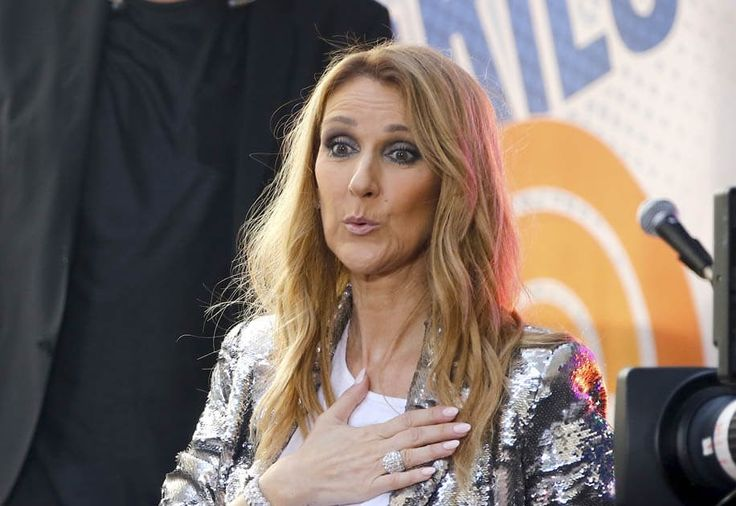Celine Dion on The Today Show and The Tonight Show is the
