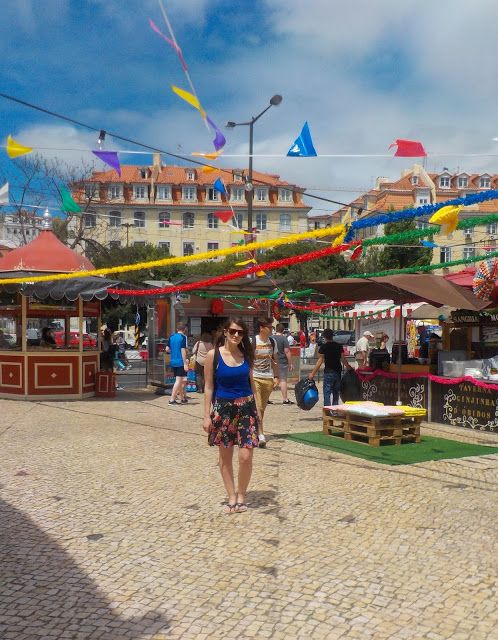 Lisbon is the most colorful city I've even seen