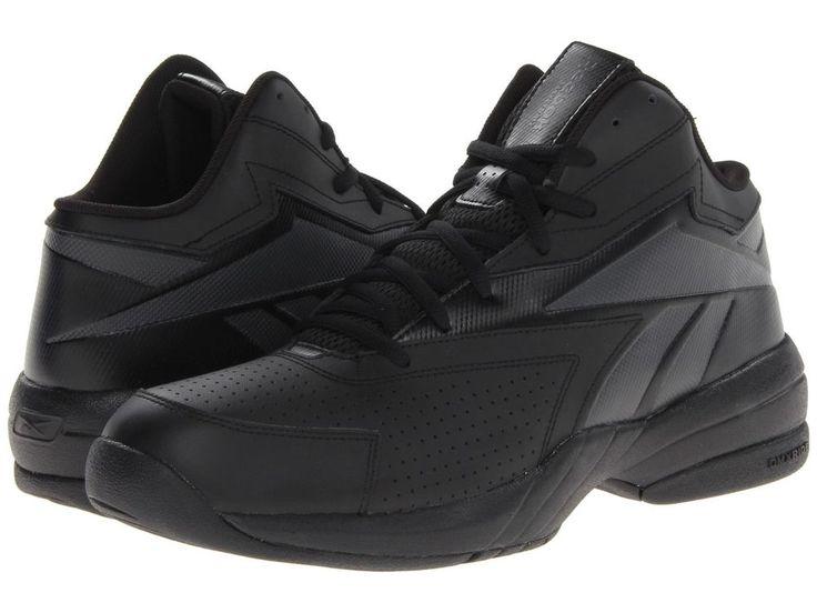 Detalles acerca de Reebok Basketball shoes Leather black Court ...