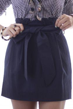 hello navy skirt!