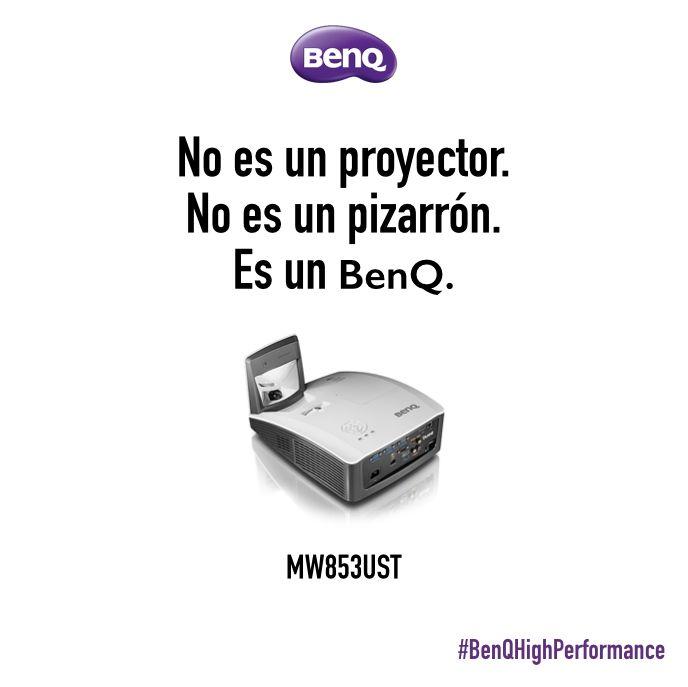 Los proyectores interactivos de BenQ te van a sorprender.