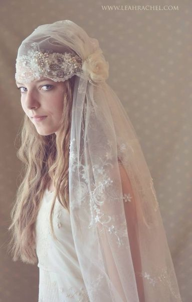 Romantic Downton Abbey Style Juliet Veil by Ruby & Cordelia's #Millinery  #HatAcademy