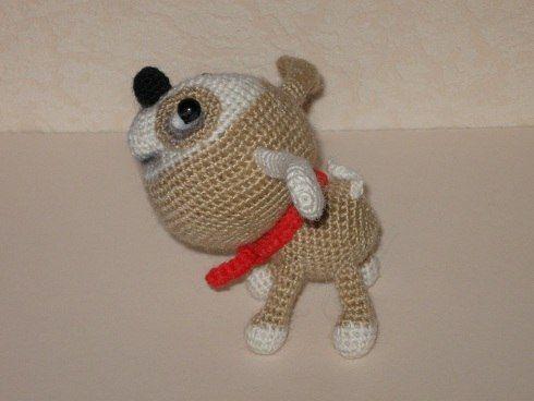 Project by Natalia Kabachek. Little Puppy & Little Kitten Crochet patterns by Svetlana Pertseva for LittleOwlsHut #LittleOwlsHut, #Amigurumi, #CrohetPattern, #Crochet, #Crocheted, #Puppy, #Pertseva, #DIY, #Craft, #Pattern