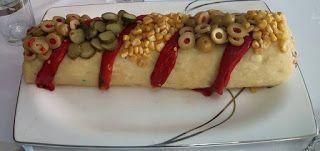 Rus Salatali Rulo Patates Salatasi Tarifi ~ Selma Mutfakta