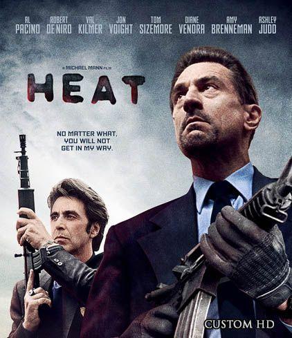 Heat 1995 movie random cover art find