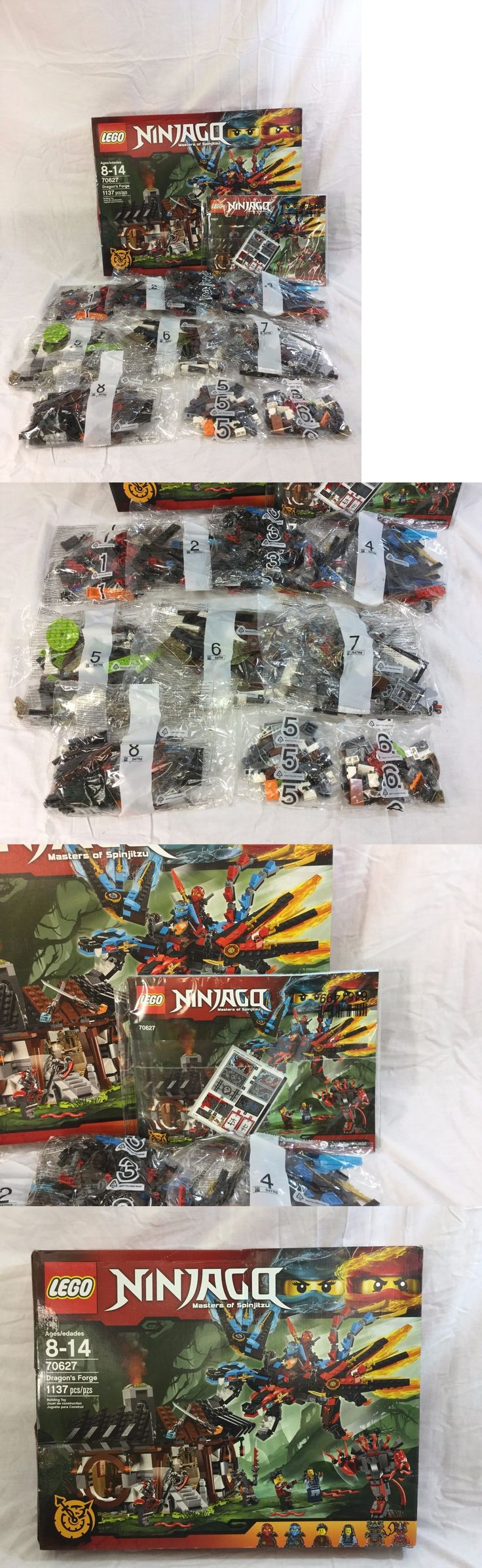 Bricks and Building Pieces 183448: Lego Ninjago Dragon S Forge Building Set - 1137 Pieces (70627) *New Other* -> BUY IT NOW ONLY: $64.99 on eBay!