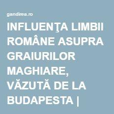http://gandirea.ro/influenta-limbii-romane-asupra-graiurilor-maghiare-vazuta-de-la-budapesta/