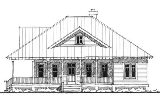 Inlet retreat houseplan by allison ramsey architects for Inlet retreat house plan