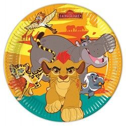 PIATTI IL RE LEONE - THE LION GUARD 8 PZ