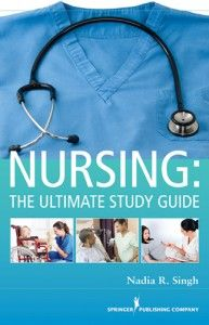 Nursing: The Ultimate Study Guide, a well-respected studying resource for nursing students by Springer. Not your typical study guide, this single resource contains all of the core information an undergraduate nursing student needs to know from the first day of nursing school through the NCLEX-RN. From the iStudentNurse Shop.