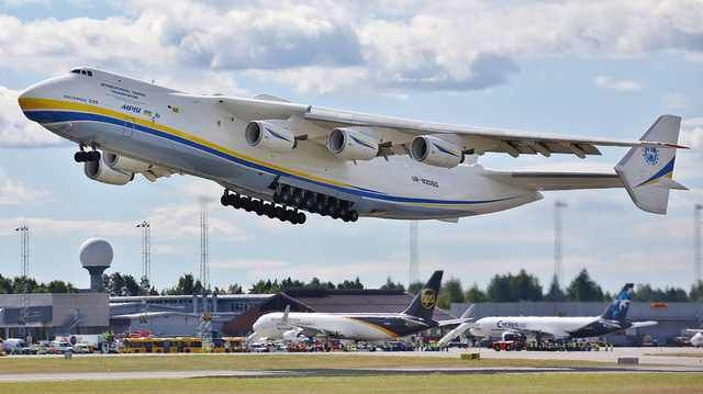 Antonov 225 Visited Oslo Yesterday With Images Aircraft