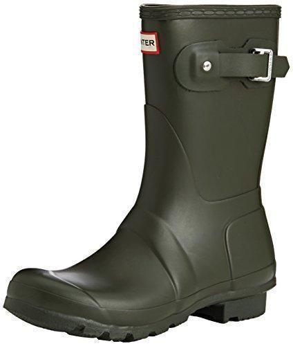 Oferta: 74.36€. Comprar Ofertas de Hunter Original Short - Botas para mujeres, color verde (dark olive), talla 38/39 EU (6 UK) barato. ¡Mira las ofertas!