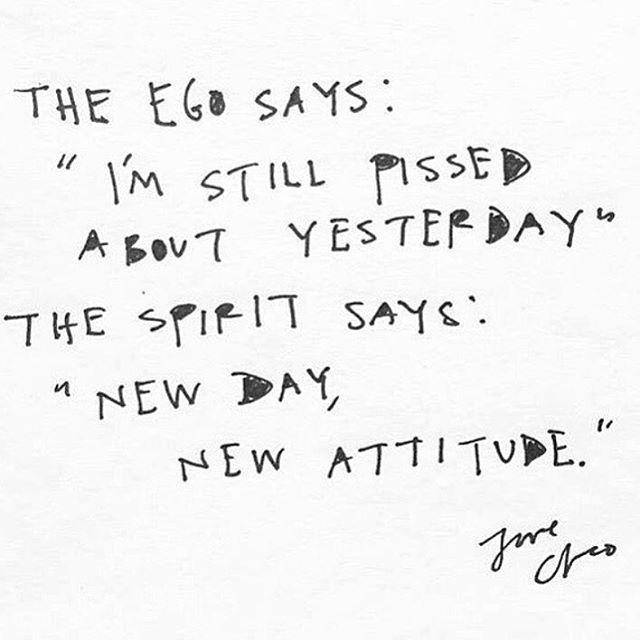 listen to the spirit....