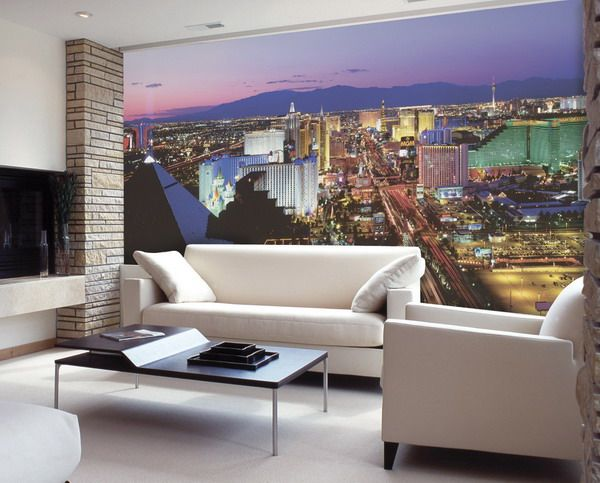 Miniature modern living room.