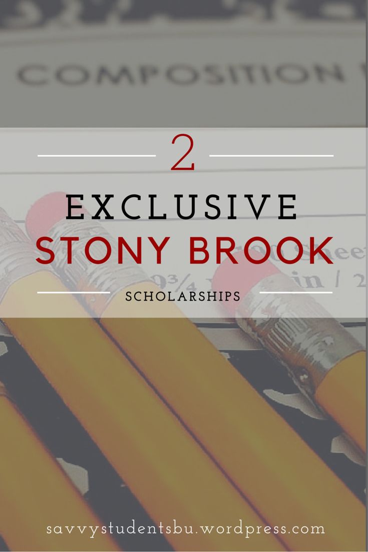 2 Exclusive Stony Brook University Scholarships