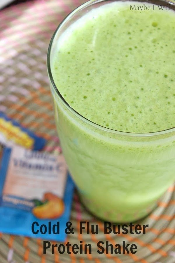 Cold & Flu Buster Protein Shake! - Maybe I Will