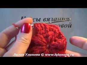 ▶ Берет Дамский Двусторонний - вязание крючком  очень симпатичный узор для берета