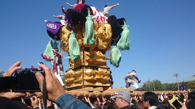 Japan festival 祭り 愛媛県 新居浜 太鼓祭り