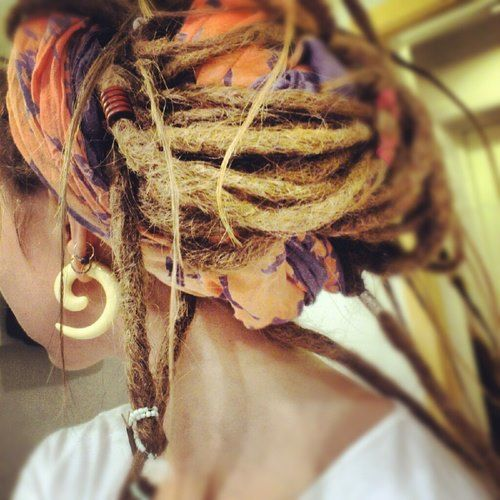 Beautyfull dreads. Do you want to get dreadlock products or dreadlock accessories check out http://www.dreadstuff.com