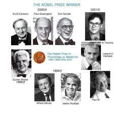 당생물학과 관련된 노벨 수상자들