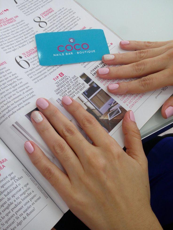 Enjoying your favorite reading @CocoNailsBar