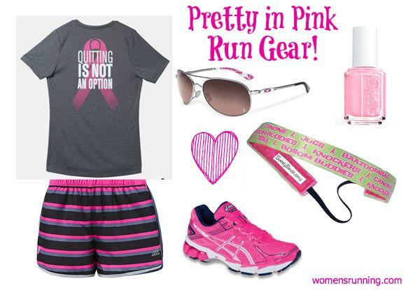 Pink October: Breast Cancer Run Gear! - Women's Running
